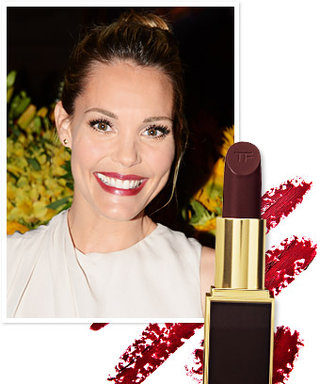 Found It! Leslie Bibb's Red Wine Lipstick
