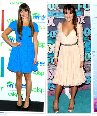 Glee's Lea Michele Stockpiles Dresses Before the Busy Season