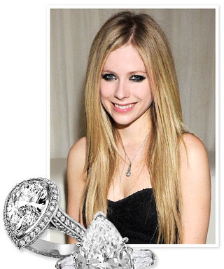 Avril Lavigne's 14-Carat Engagement Ring: See More Pear-Shaped Styles