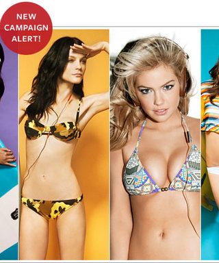 Kate Upton, Chanel Iman, and Chrissy Teigen Model for Skullcandy
