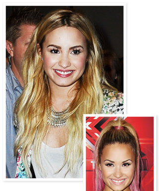 Just in Time for Tonight's MTV VMAs: Demi Lovato Goes Solid Blond