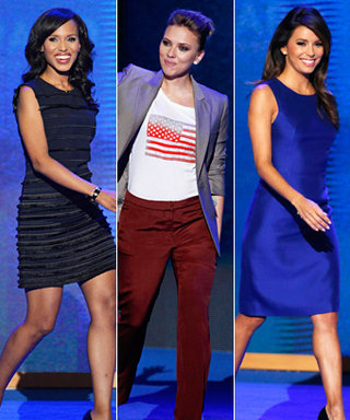 2012 Democratic National Convention: Eva, Scarlett, and Kerry Rock the Vote!