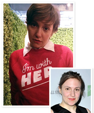 Lena Dunham Cut Her Hair 6 Hours Before Rachel Antonoff's Show!