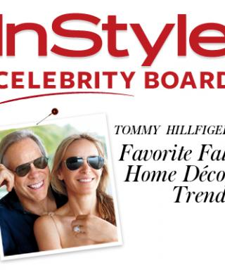 Tommy Hilfiger's Favorite Fall Home Decor Trends