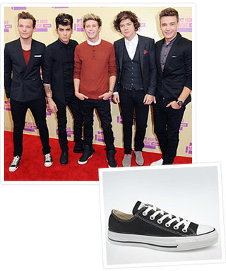 Found It! One Direction's MTV VMA Sneakers
