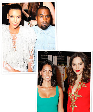 Stars in the Front Row: Kim Kardashian, Katharine McPhee, and More!
