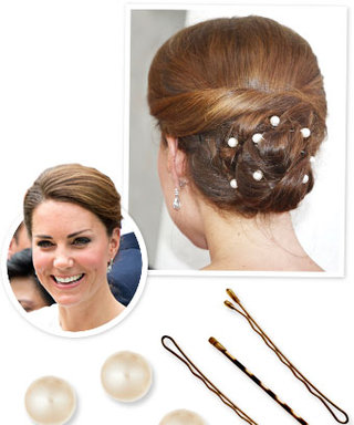 Kate Middleton's Pretty Pearl Hair: Here's How to Get It