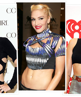 The Pink/Gwen/Miley Look: Platinum Hair with Bare Midriffs