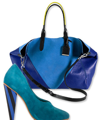 Today We Love: Bright Blue Accessories
