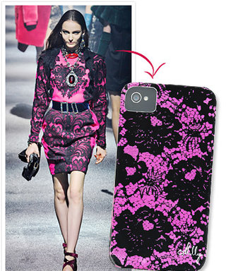 Fashion-Inspired iPhone Case: Lanvin and Milly's Lace Print