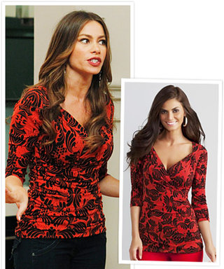 Found It! Sofia Vergara's Floral Top from Modern Family