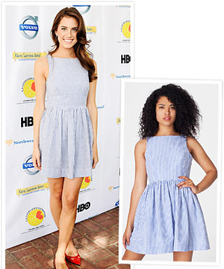 Found It! Allison Williams's American Apparel Dress
