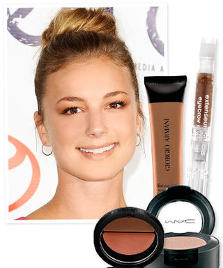 How to get Emily VanCamp's Natural Smoky Eye