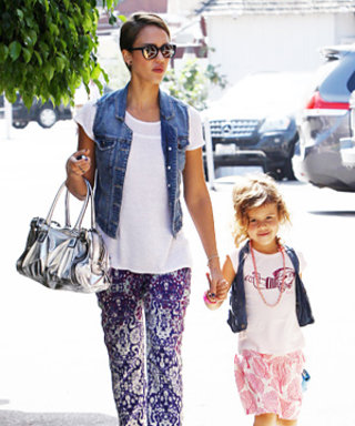 Adorable Alert: Jessica Alba and Daughter Honor's Matching Style