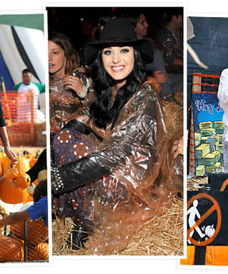 Halloween 2012: Celebrity Pumpkin Pickers, Hayrides, and More