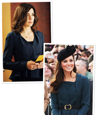 The Good Wife's Favorite Jacket: TV (Alicia Florrick) and Reality (Kate Middleton)