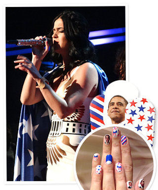 Katy Perry's Presidential Election-Inspired Nails: Do You Like Her Look?
