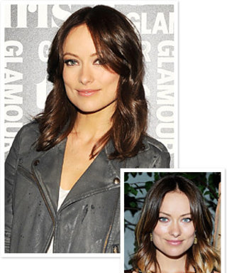 Olivia Wilde's New Hair Color: Dark Chocolate