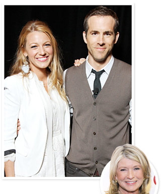 """Ryan Reynolds and Blake Lively's Wedding: """"Real People, Real Love"""" Says Martha Stewart"""