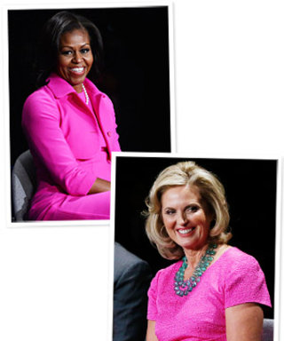 Pink Dress Debate: Michelle Obama vs. Ann Romney