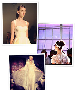 InStyle on Instagram: Our Bridal Fashion Week Photos