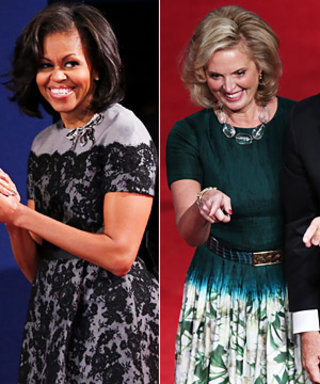 Final Debate Dresses: Michelle Obama vs. Ann Romney