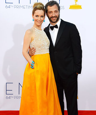 """Leslie Mann's Fashion Advice for Judd Apatow: """"Stop Wearing the Same Shirt from 17 Years Ago!"""""""