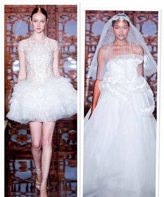 Reem Acra's New Wedding Dress Collection: See the Photos