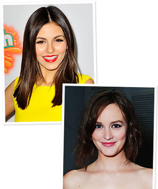 Leighton Meester and Victoria Justice Chop Hair: See Photos!