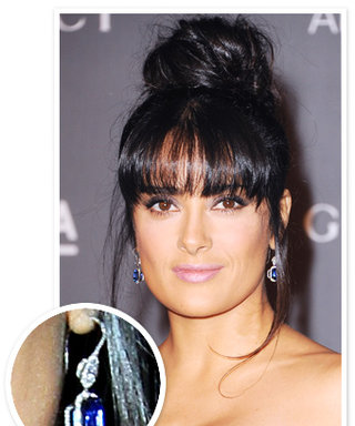 Salma Hayek's $1 Million Earrings