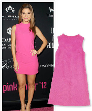 Found It! Maria Menounos' Hot Pink Dress