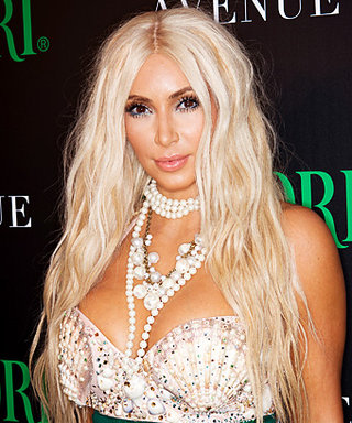 Kim Kardashian's Mermaid Halloween Costume Included a $2,000 Halloween Wig