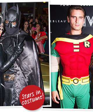Kim Kardashian As Catwoman, Kanye West As Batman, Plus More Celebrity Halloween 2012 Costumes!