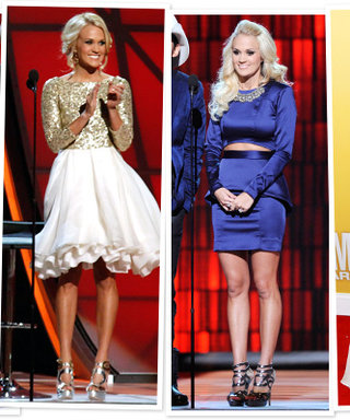 Carrie Underwood's CMA Awards 2012 Dresses: See All 12!