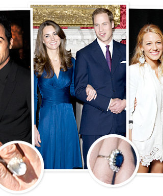 The Biggest Celebrity Engagement Rings: See the Photos!