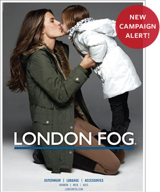 Alessandra Ambrosio, Daughter Star in London Fog Ad Campaign