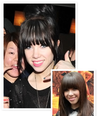 Carly Rae Jepsen's New Black-Brown Hair Color