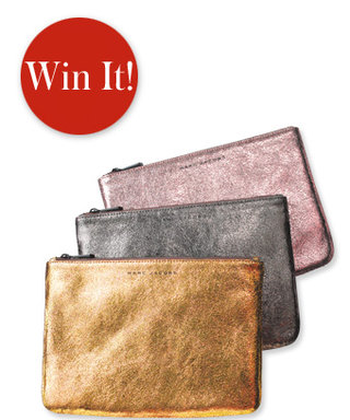 Holiday Gift Giveaway: Last Day to Enter to Win This Marc Jacobs Pouch!