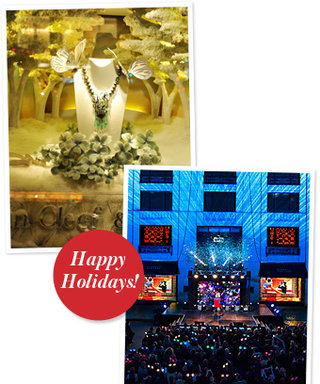 Barneys and Van Cleef & Arpels Debut 2012 Holiday Windows: See the Photos