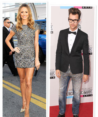 AMAs 2012: Stacy Keibler and Stylist Brad Goreski's Red Carpet Moment