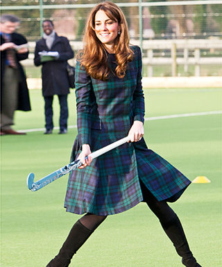 What Does a Duchess Wear to Play Field Hockey? Alexander McQueen!