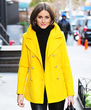 Olivia Palermo's Bright Coat: Your Top Pinterest Pick This Week