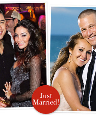 Just Married! Mario Lopez and Courtney Mazza, Ashley Hebert and J.P. Rosenbaum; Both Weddings to Air on TV