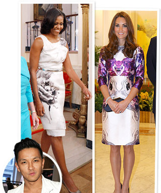 Prabal Gurung's Most Memorable Moments of 2012: Michelle Obama and Kate Middleton