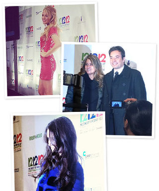 Backstage at the 12-12-12 Concert for Hurricane Sandy Relief With InStyle!