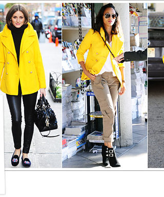 Found It! The Sunny Yellow Old Navy Coat Stars Love