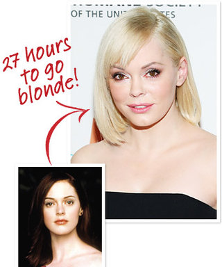 Exclusive: It Took 27 Hours To Dye Rose McGowan's Hair Blonde