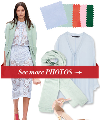 Ice, Ice Baby: Here are 4 Fabulous Color Combinations to Wear With This Frosty Shade of Blue
