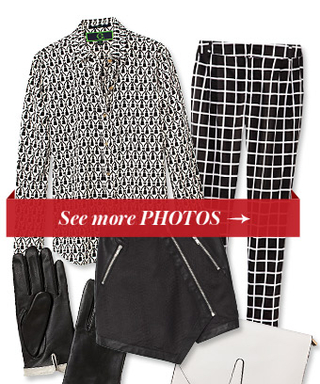 Be Forever Chic! Shop 17 Black & White Pieces