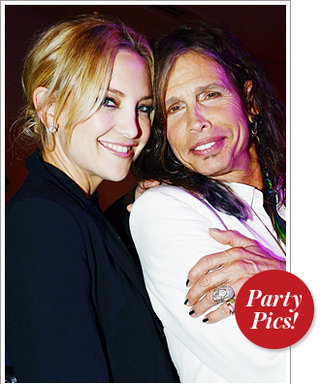 Kate Hudson Raises Her Voice with Steven Tyler, Plus More Parties!